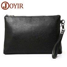 JOYIR 2019  Men Envelope Clutch Bag Male Genuine Leather Wallet Men Clutch Bag Clutch Wallet Luxury Leather Men Wallet 3356