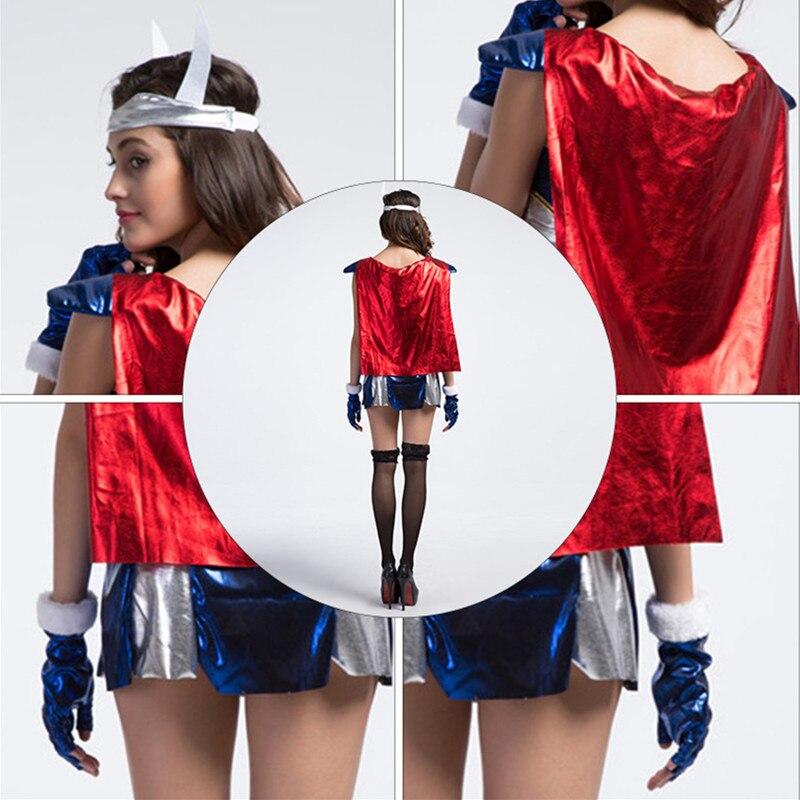 The Avengers Woman Thor Cosplay show cloth Halloween goddess ...