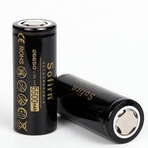 Image 2 - Sofirn 26650 バッテリー 5000 mah 3.7 ボルト充電式電池の高容量のリチウム電池 LED 懐中電灯リチウムイオン電池