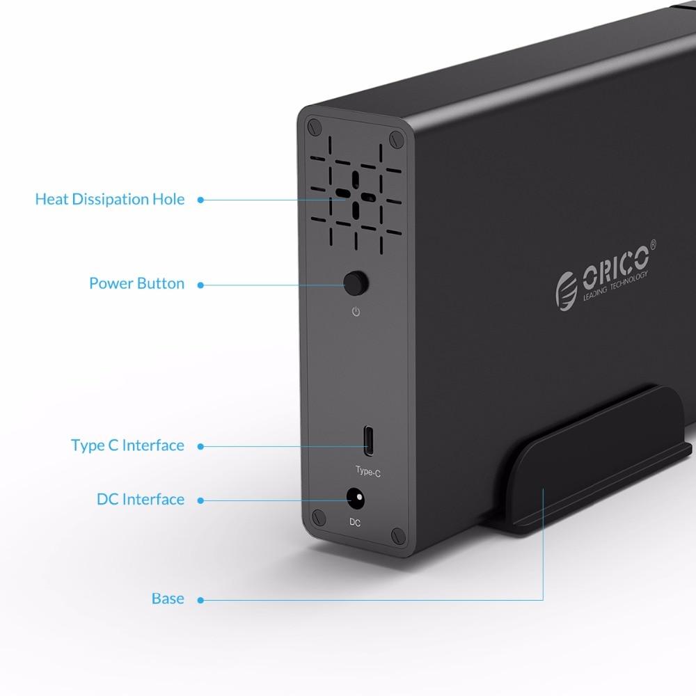 ՕՐԻԿՈ Type-C ալյումինե կոշտ սկավառակ HDD- - Արտաքին պահեստավորման սարքեր - Լուսանկար 5