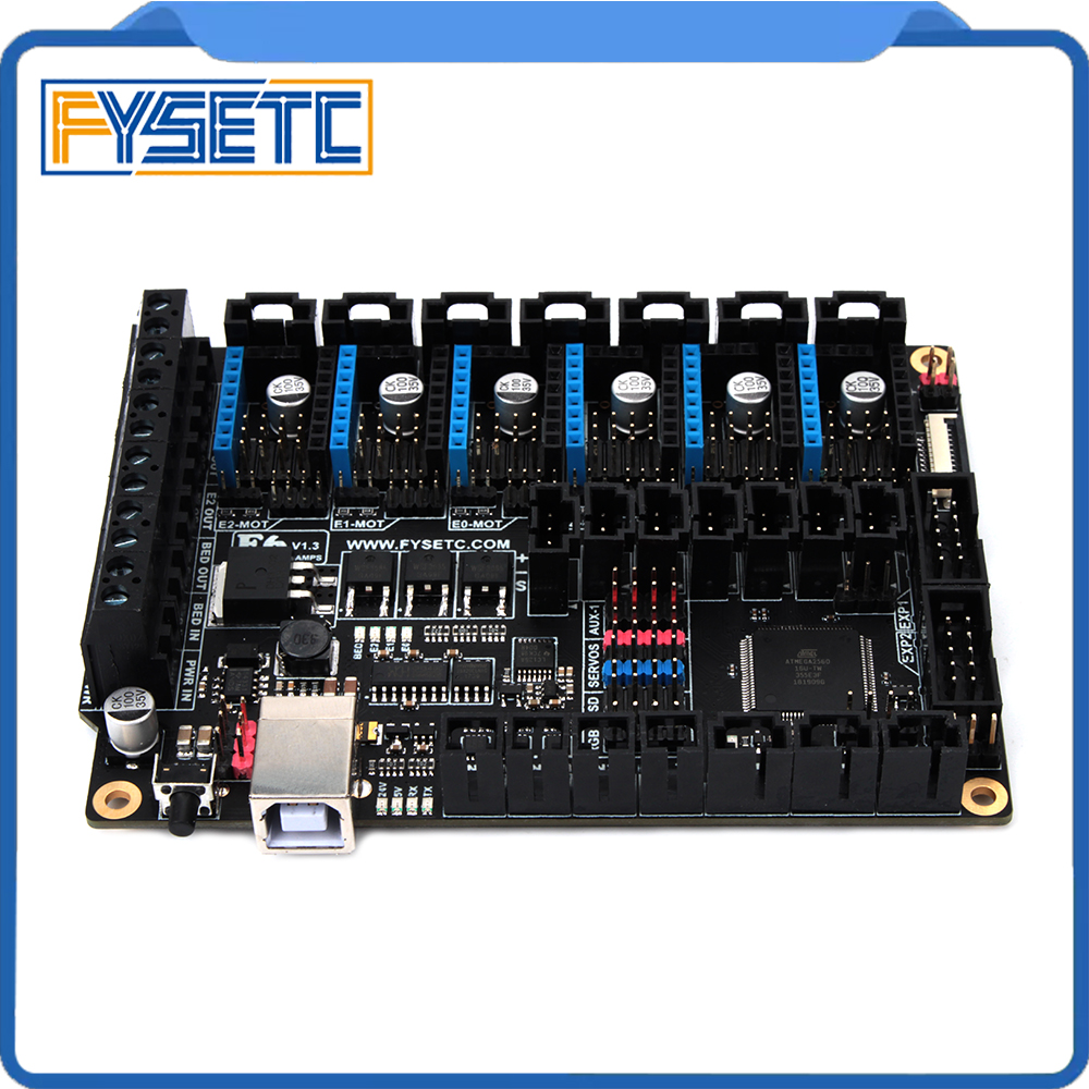 Image 5 - FYSETC F6 V1.3 Board ALL in one Electronics For Ender 3 3D 