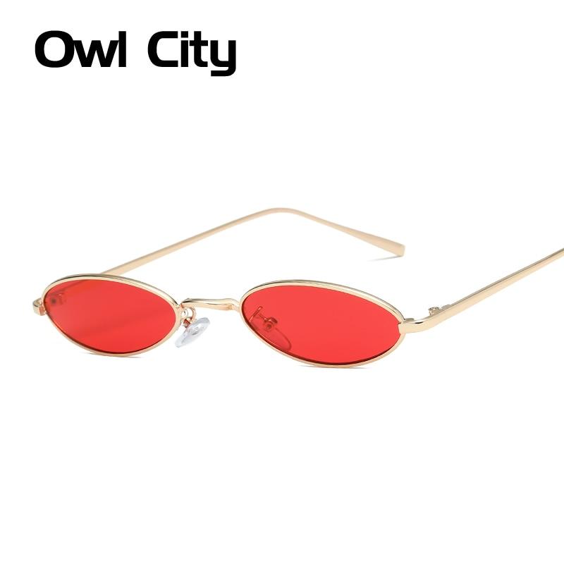 Piccola Rotonda Occhiali Da Sole Donne Dell'annata Delle Signore Occhiali Da Sole Del Progettista di Marca Retro Occhiali Da Sole-donne Eyewear Donne Sunnies Shades