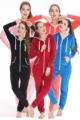 Nordic Way Onsie Velutum One Piece Jumpsuit Velvet Adult Romper Unisex Women Playsuit