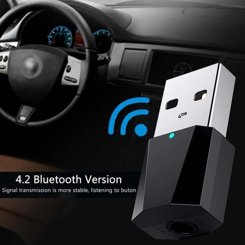 Wireless USB AUX Car Bluetooth Kit Autos Bluetooth Mini Bluetooth Receiver Adapter Music Wireless Speakers Audio Free Shipping
