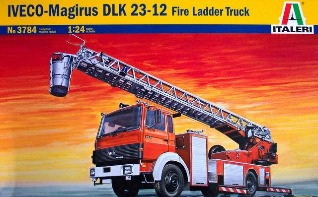 ITALERI 3784 1/24 IVECO MAGIRUS DLK 23-12 fire ladder truck гэотар медиа 978 5 9704 3784 1
