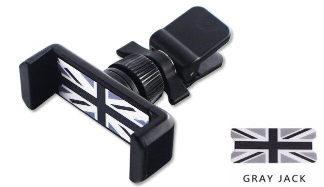 Универсальный держатель Gtinthebox для Mini Cooper, автомобильный держатель для телефона R50 R53 R55 R56 R60 R61 F54 F55 F56 F60 - Цвет: Синий