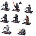 2016 8 Unids/set Star Wars Figuras Compatible Bloques De Construcción Modelo de Buque de Guerra Darth General Grievous Legoes Starwars Figuras