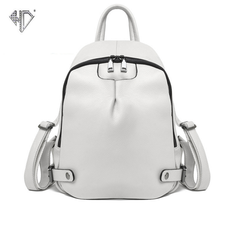 High Quality PU Leather Backpack Fashion Women Backpack Famous Brand Personality Designed Backpack Schoolbag B
