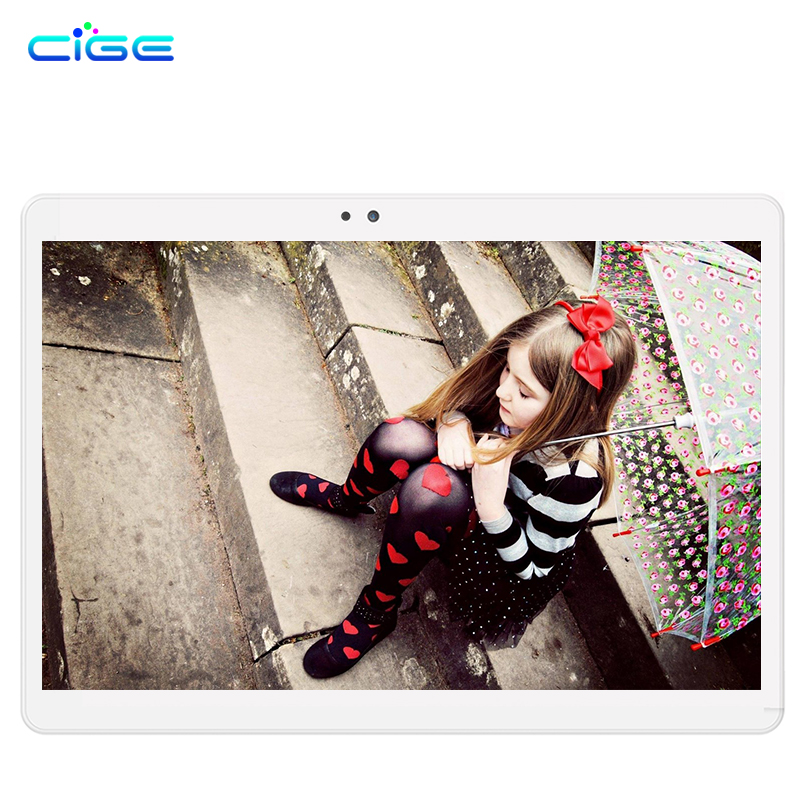 CIGE 10.1 inch Classic 4G Octa core Android 7.0 Tablets pc 2GB 32GB WIFI 2 SIM Card Phone Call Smart Tab Pad Add Cover pc tablet classic smart cover