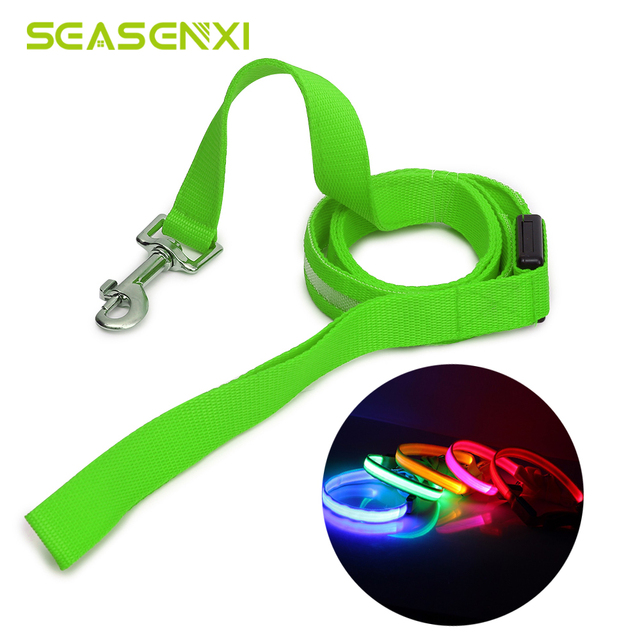 LED Dog Leash at Night Luminous Anti-Lost Leash For Dogs Puppies LED Glowing Leashes For Cats Kitten Dog Supplies Pet Products