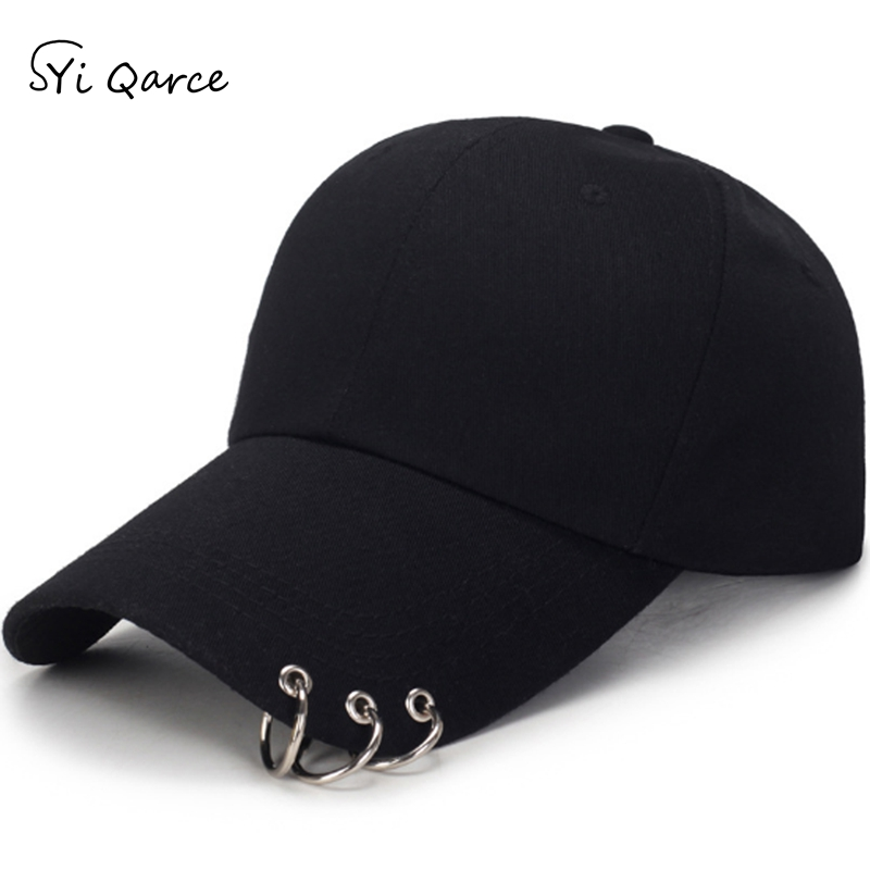 Baseball-Hat Ring Snapback Hat Syi Adjustable Outdoor-Sports Fashion Women High-Quality title=