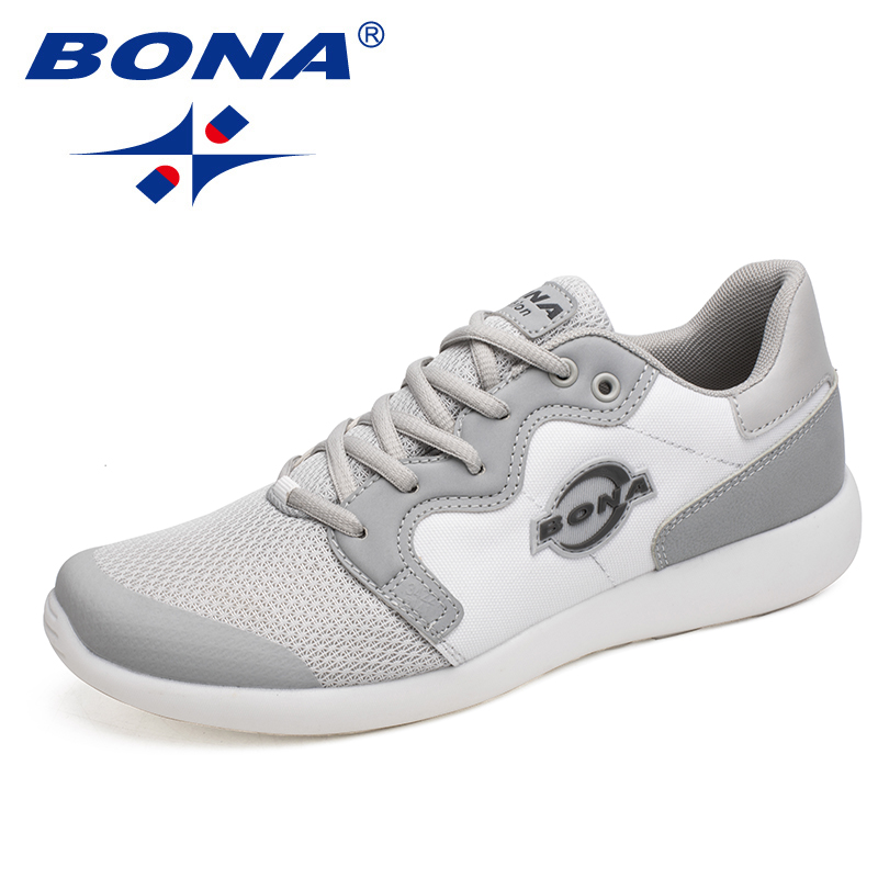 BONA New Arrival Typical Style Men Running Shoes Outdoor Jogging Sneakers Comfortable Male Sport Shoes Light Men Athletic Shoes peak sport men outdoor bas basketball shoes medium cut breathable comfortable revolve tech sneakers athletic training boots
