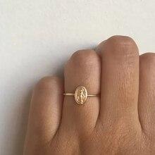 Speroseful, женские изящные кольца, Virgin Mary, круглые кольца для женщин, нежные кольца, модные ювелирные изделия, вечерние, подарки, размер 6-10