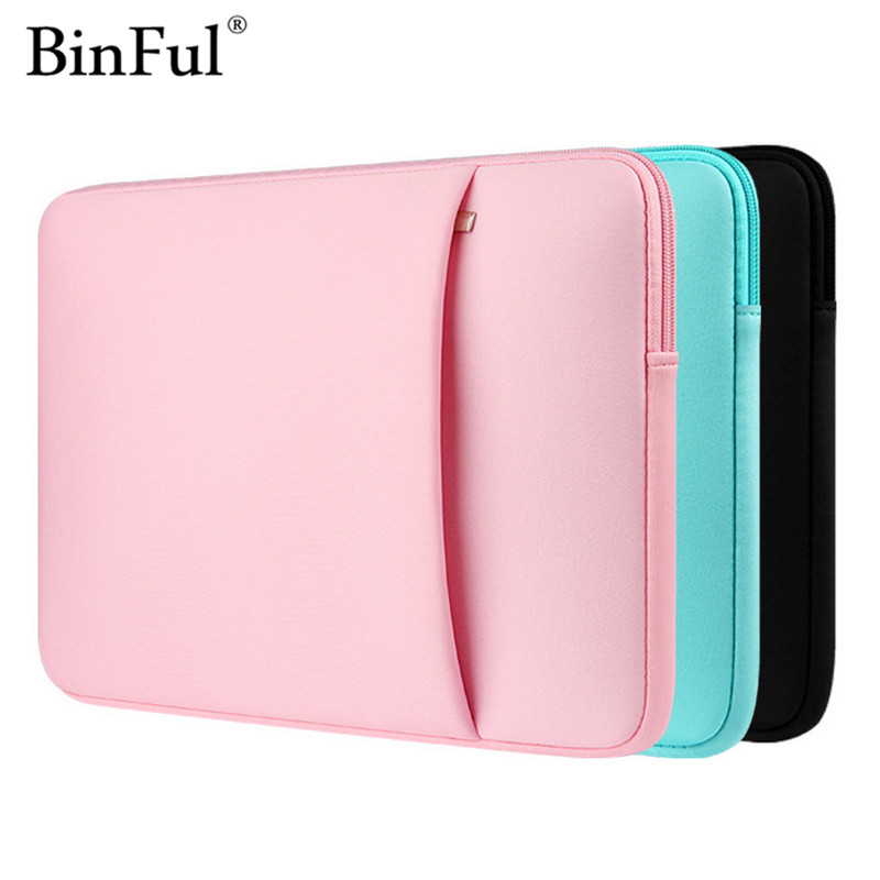 BinFul Sleeve Case For Macbook Laptop AIR PRO Retina 11,12,13,15 inch, 15.6 inch Notebook Bag 14 ,13.3,15.4 Laptop Cases