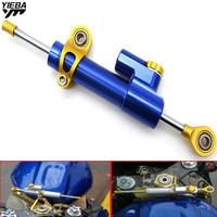 Universal Aluminum Motorcycle Damper Steering Stabilize Control FOR YAMAHA YZF R25 R15 R6 R125 kawasaki z750 Z800 FZ8 FZ1 FZ6R