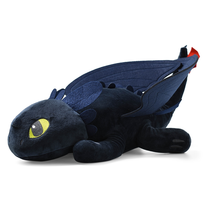 4 Size Cute Toothless Dragon Cartoon Plush Toys How To Train Your Dragons Anime Soft Stuffed Dolls Toy For Kids Best Gifts in Movies TV from Toys Hobbies