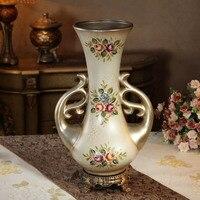 The British ouobo European Garden resin vase flower pots flower for decoration decoration bottle