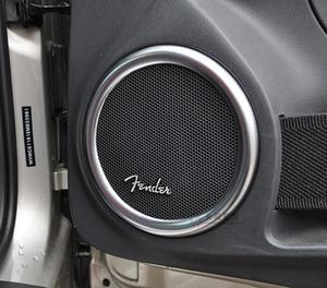 4 Uds estilo de coche de altavoz de Audio etiqueta para Fender Volkswagen escarabajo VW Passat B6 B8 B7 B5.5 B5 CC de Tigua de Polo Golf 4 7 6 Jetta