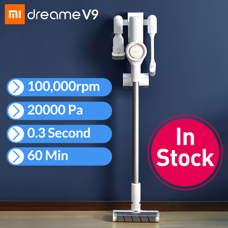 xiaomi dreame v9 handheld cordless vacuum cleaner portable wireless carpet dust collector mi. Black Bedroom Furniture Sets. Home Design Ideas