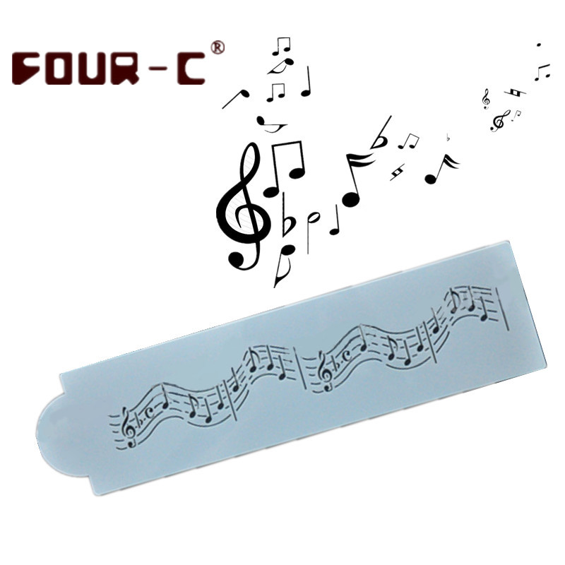 Kitchen Layout Notes: Aliexpress.com : Buy Musical Notes Border Stencil Template