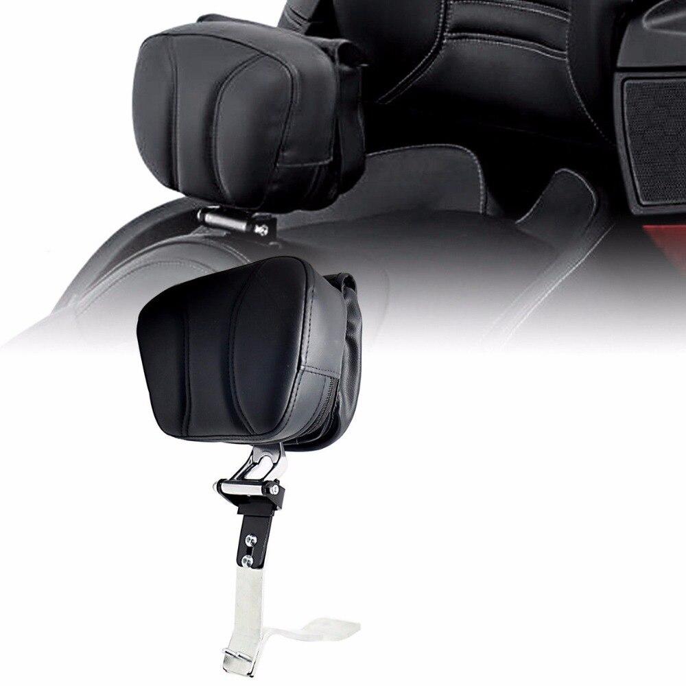 Adjustable Black Driver Backrest Smart Mount Back Rest For Can Am Spyder RT 2008 2017 M