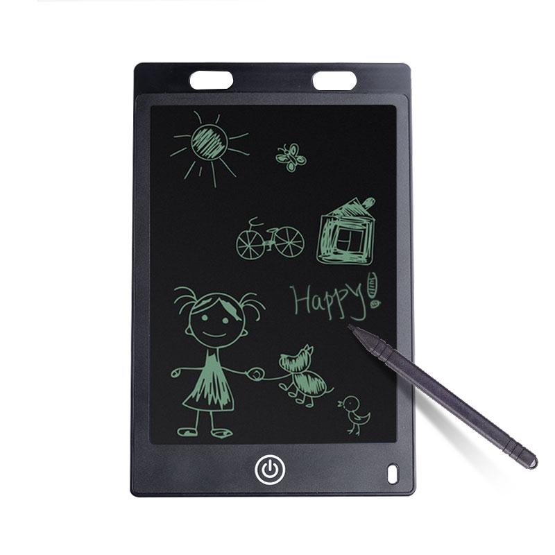 Peradix 8.5 Inch LCD Board Tablet Drawing Notepad Writing Officer Worker Black Intelligence Creative LCD+ABS gift for children ...