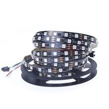 1m/5m/roll 16.5ft DC12V 2811 ic 5050 SMD rgb strip addressable 30/48/60leds/m led pixels strip external 1 ic control 3 leds