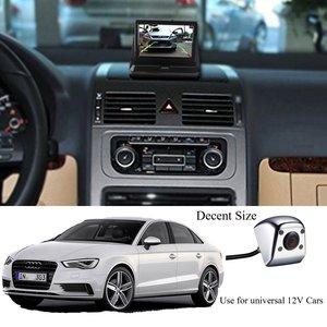 Image 5 - Podofo HD dikiz su geçirmez Metal gövde araba dikiz kamera 170 derece geniş açı araba dikiz kamera reversing geri görüş kamerası