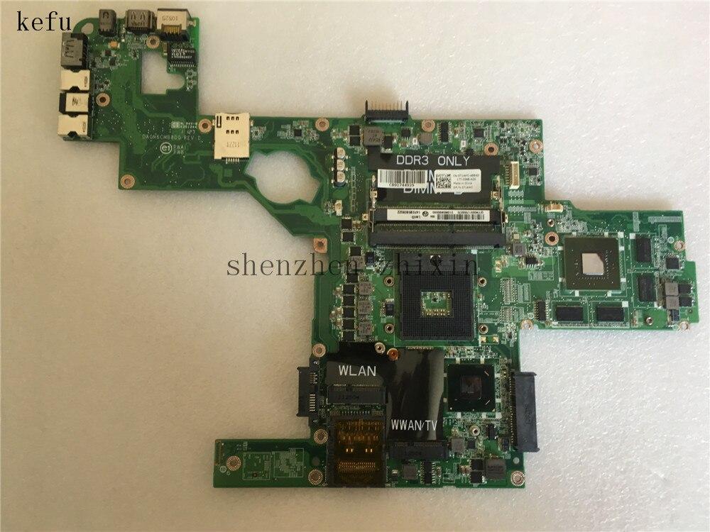 Материнская плата HM67 714WC 0714WC DDR3 с графическим тестом GT540M 2G для ноутбука dell XPS L502X