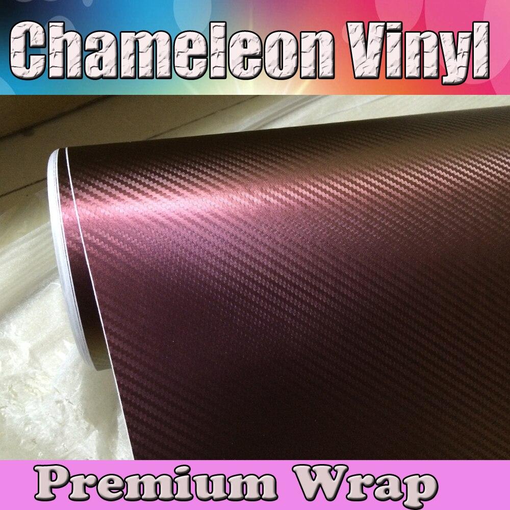 3d Chameleon Carbon Fiber Vinyl Wrap Color Change Car