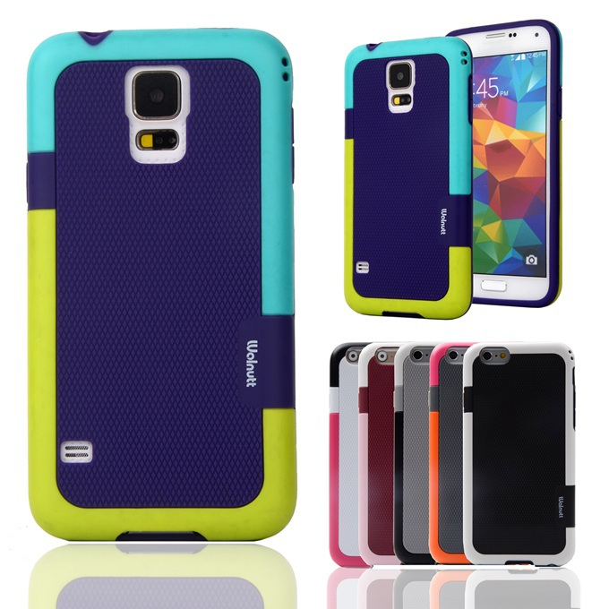 Candy Double Color ARMOR Soft TPU Hybrid Back Case For Samsung Galaxy S4 I9500 SIV I9505 I9507V 5.0