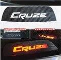 La fibra de carbono pegatinas de coches de montaje Alto, la luz de freno para Chevrolet Cruze sedan