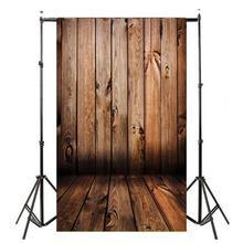 0.9×1.5 m Gradiente Padrão de Madeira Cenários de Fotografia Fundo Pano De Fundo Pano Adereços Tiro Retrato Acessórios de Flash Da Câmera