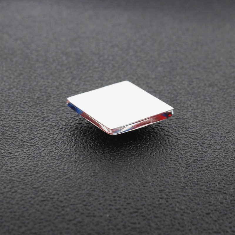 Tafree 골드 컬러 미국 달러 기호 기호 패턴 25mm 사각형 모양 유리 카보 숑 & 유리 보석 카메오 설정 보석 결과