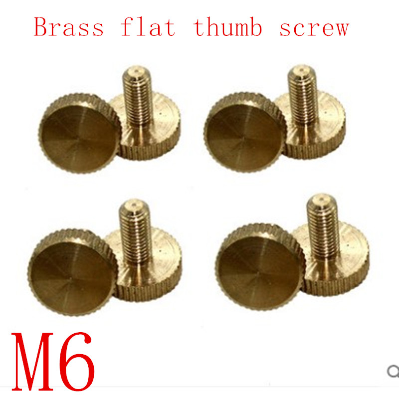 Gibraltar 1//4-20 Lobed Shoulder Flat Tip Grade C-12L14 Steel Thumb Screw 2-5//...