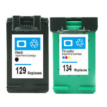 Compatible for HP 129 134 Ink Cartridge For HP 8050 C4140 C4150 C4150 C4180 C4183 C4188 Ink Jet Printer Real Hot Sale(China)