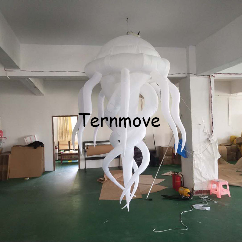 inflatable bar jellyfish medusa acaleph seajelly for advertising hanging decorative lighted Jellyfish for inflatable toys hansa amm20bimh