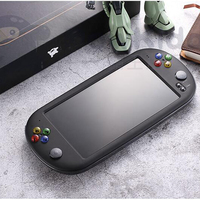 7 Inch Portable Game Console Built in 8G/16G memory Handheld Game Player Retro Console TV OUT Support CPS/GBA/MD/FC/GB/GBC