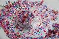 RG3-63 Mezclado Nacarado Color Ultra Delgado Círculo Forma Brillo Resistente A los Disolventes para uñas y BRICOLAJE decoración de Tamaño: 3 MM