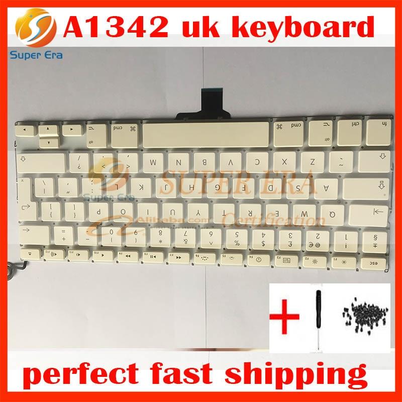 nieuw Brits toetsenbord voor macbook 13.3 '' A1342 Brits toetsenbord - Notebook accessoires