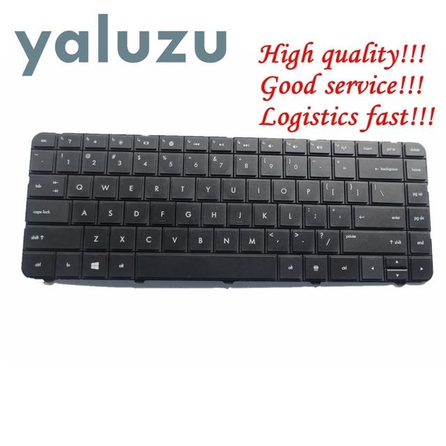 YALUZU clavier pour HP, pour appareil 250 G1 255 G1, 430, 431, 435, 436, 450, 455, 630, 631, 635, 636, 650, Compaq 655, noir, US