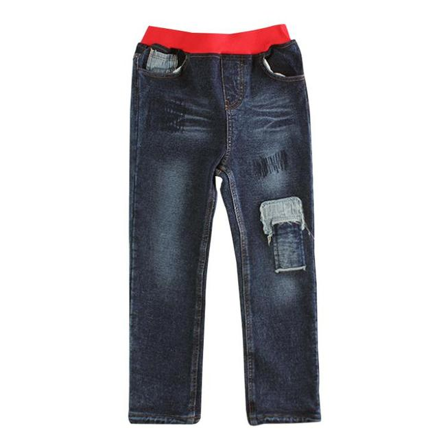 Free shipping fashion boy jeans for spring/autumn kids novelty denim trousers new style children pocket jeans