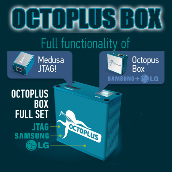 Original Octoplus Box with 27pcs cables work for Samsung and FOR LG+