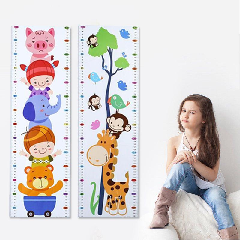 HTB15BPbXEMgYeJjSZFGq6xsMXXar - Cartoon PVC Kids Height Chart Wall Sticker For kids rooms