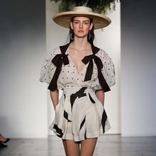 Kaguster Fashion Women clothes 2019 crop top outfits Shorts set Harajuku Korean set Blouse Polka Dot plaid Summer luxury elegant