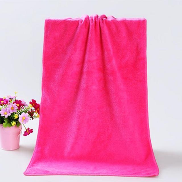 Di spessore Adulto Asciugamano porta Telo Da Bagno Super Assorbente Ad asciugatu