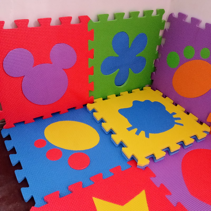 12PCS Pack Foam Puzzle Mats EVA Flooring Mat Star Flower Animal Figures Baby Floor Mat Foam Baby Play Mat Mix Pack PX09 ...