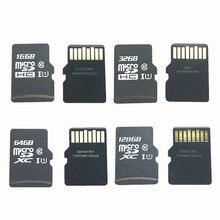 진짜 용량!!! 10 개/몫 16 gb 32 gb 64 gb 128 gb 마이크로 sdhc sdxc sd 카드 c10 u1 tf 메모리 카드