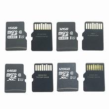 Capacidade real!!! 10 pçs/lote 16 gb 32 64 gb 128 gb micro sdhc sdxc cartão sd c10 u1 tf cartão de memória