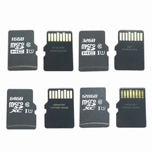 Get more info on the Real Capacity!!! 10pcs/lot 16GB 32GB 64GB 128GB Micro SD SDHC SDXC Card C10 U1 TF Memory card